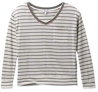 Splendid Long Sleeve Stripe Top (Big Girls)