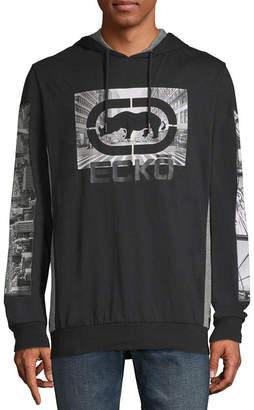 Ecko Unlimited Unltd Long Sleeve Jersey Logo Hoodie
