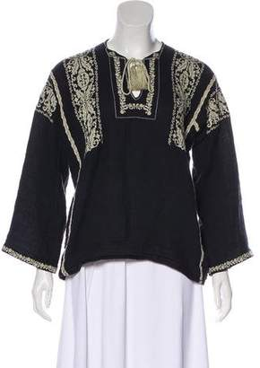 Etoile Isabel Marant Embroidered Knit Tunic