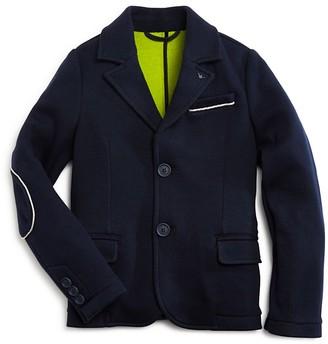 Armani Boys' Knit Blazer - Little Kid, Big Kid $360 thestylecure.com