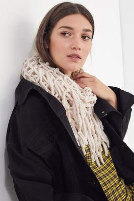 Urban Outfitters Hand Crochet Loop Scarf
