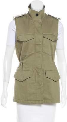 Rag & Bone Button-Up Longline Vest