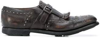 Church's studded buckle loafers
