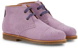 Penelope Chilvers Wander Lilac Lace Up Boot
