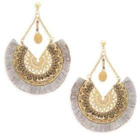 Panacea Fringed Filigree Earrings