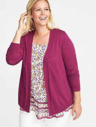 Old Navy Plus-Size Open-Front Sweater