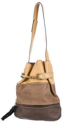 Chloé Leather Tassel Hobo
