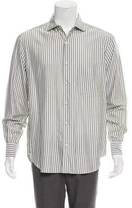 Loro Piana Striped Silk Shirt