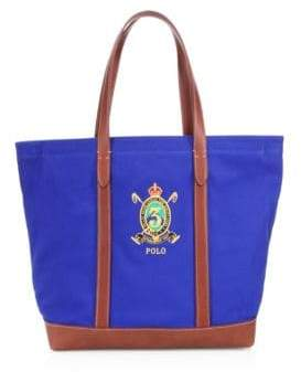 27e87b0993 16821 new style polo ralph lauren crest canvas tote e14f4 567f7