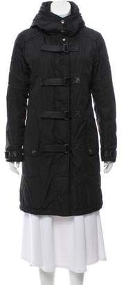 Barbara Bui Hooded Puffer Coat