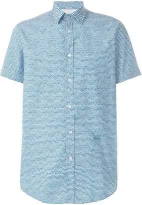 Diesel printed short sleeve shirt