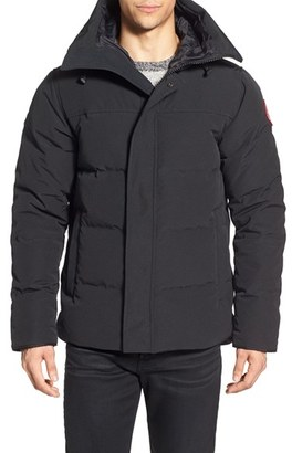 Men's Canada Goose 'Macmillan' Slim Fit Hooded Parka $800 thestylecure.com