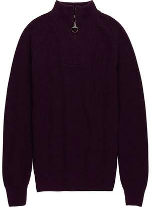 Barbour Keswick Rib Half Zip Sweater - Men's