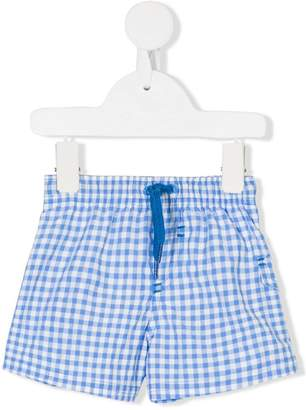 Tartine et Chocolat vichy swim shorts