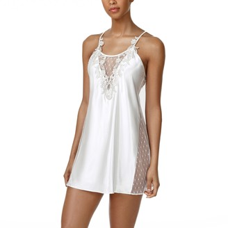 Flora Nikrooz Flora By Women's Flora by Short Charmeuse Chemise