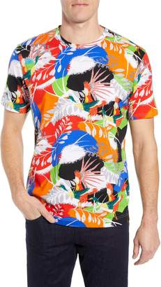 Robert Graham Flying Crane Tailored Fit T-Shirt