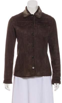 Salvatore Ferragamo Casual Shearling Jacket