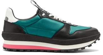 Givenchy Tr3 Runner Low Top Trainers - Mens - Black Green