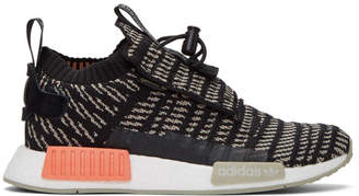adidas Black and Beige NMD-TS1 PK GTX Sneakers