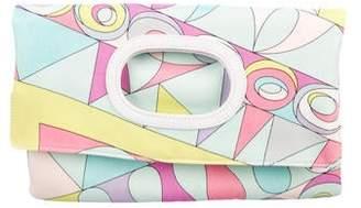 Emilio Pucci Printed Convertible Clutch