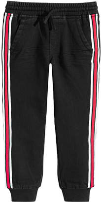 Epic Threads Little Boys Striped Denim Jogger Pants, Created for Macy's