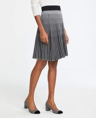 Ann Taylor Tall Stitched Sweater Skirt