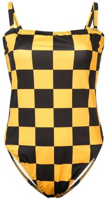 Solid & Striped checkered Malibu one piece