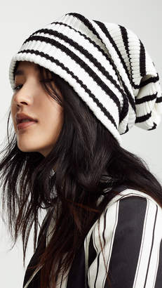 Marc Jacobs Uneven Stripe Hat
