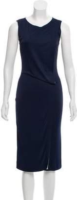 Alberta Ferretti Sleeveless Midi Dress