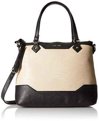 Nine West Smooth Blocking Satchel