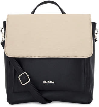 EMODA (エモダ) - 【SAC'S BAR】エモダ EMODA リュック EM-9211 異素材バイカラー ベージュ