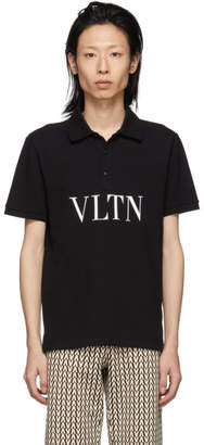 Valentino Black VLTN Polo