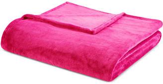 Intelligent Design Microlight Plush King Oversized Blanket Bedding