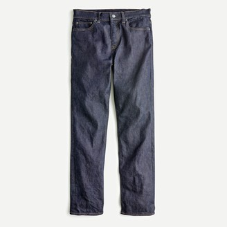 J.Crew 770 Straight-fit jean in stretch resin rinse Japanese denim