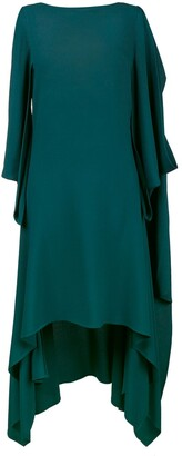 Sies Marjan sleeveless draped asymmetric dress