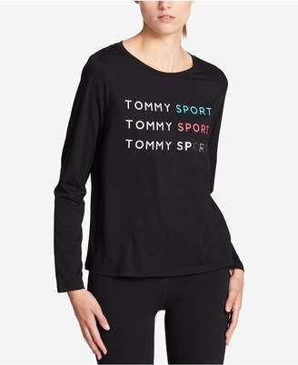 Tommy Hilfiger Long-Sleeve Graphic T-Shirt, Created for Macy's