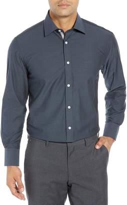 English Laundry Regular Fit Print Dress Shirt