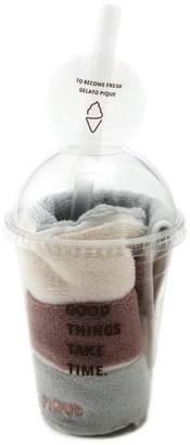 Gelato Pique (ジェラート ピケ) - gelato pique ボーダーボトルハンドタオル