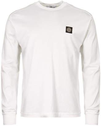 Stone Island Long Sleeve T-Shirt - White