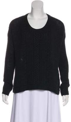 Alice + Olivia Long Sleeve Crew Neck Sweater
