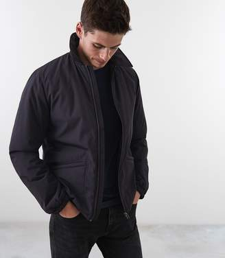 Reiss HERMAN BLOUSON JACKET Dark Grey