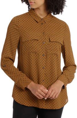 Double Pocket Soft Shirt Print