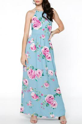 Everly Floral Maxi $68 thestylecure.com