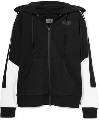 Kith - Bristol Oversized Printed Cotton-fleece Hooded Top - Black