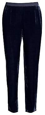 Eileen Fisher Women's Slouchy Velvet Ankle Pants