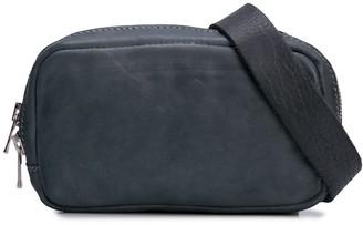 Guidi zipped crossbody bag