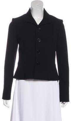 Ralph Lauren Black Label Long Sleeve Wool Blazer
