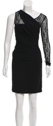 Helmut Lang Asymmetrical Mini Dress