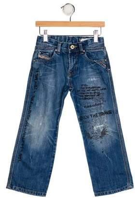 Diesel Boys' Printed Jeans