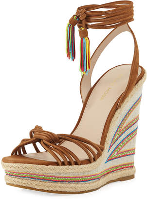 Pelle Moda Onos Suede Wedge Sandal